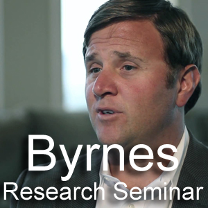 Byrnes Research Seminar