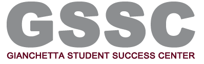 School of Business Administration Gianchetta Student Success Center (GSSC) logo