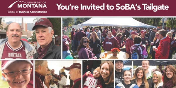 You're invited to SoBA's Tailgate