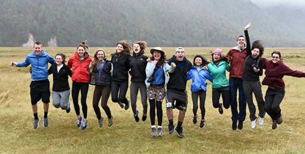 Students in New Zealand