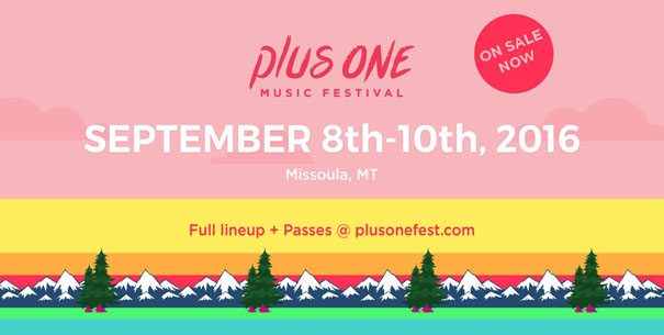 Plus One Music Festival, September 8-10, tickets on sale now