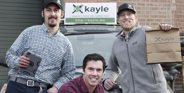 Entrepreneuers who started Kayle (photo by Tommy Martino, Missoulian)