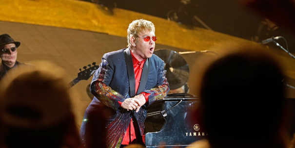 Elton John by Bob Zellar, Billings Gazette