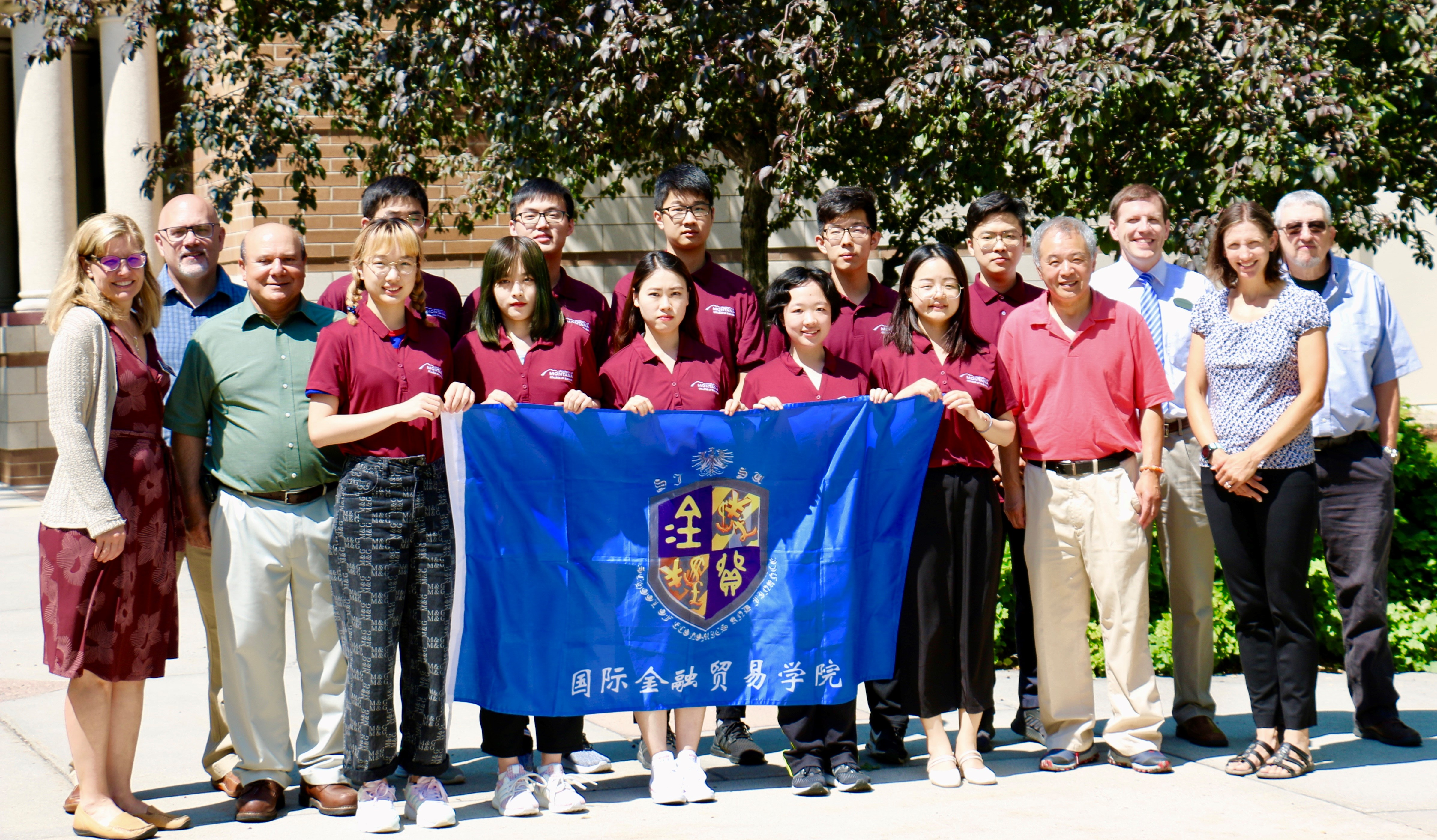 College of Business welcomes Chinese students from Shanghai International Studies University