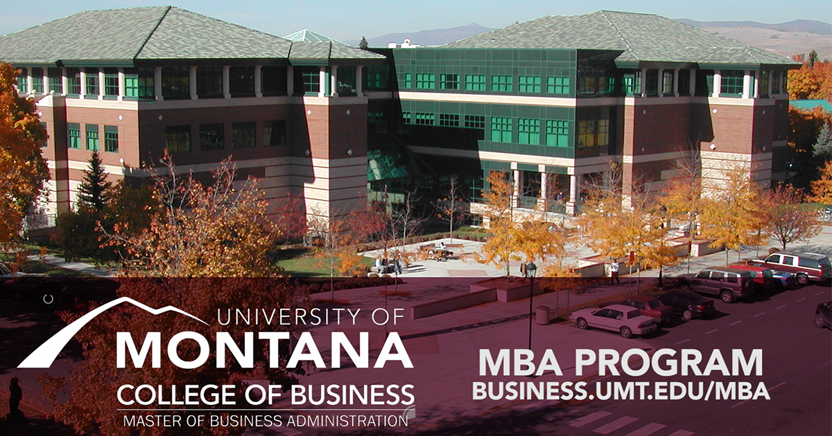 MBA From Montana - The Power of Choice
