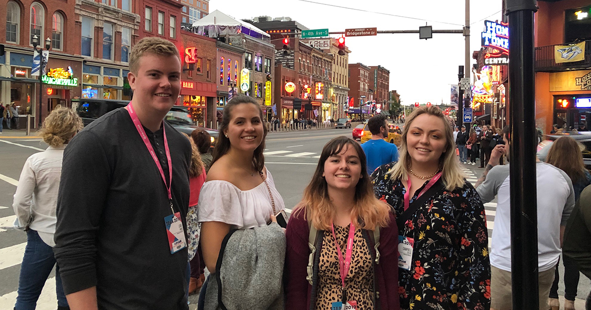 UMEM students travel to Nashville for national conference