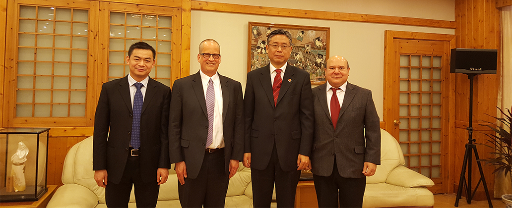 College of Business Signs MOU to Collaborate with Chinese University