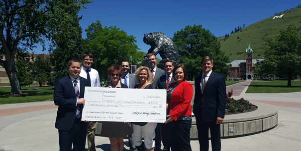 Career Development and Career Services accepting Enterprise Holdings grant