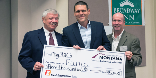 2015 Business Startup Challenge first-place winner