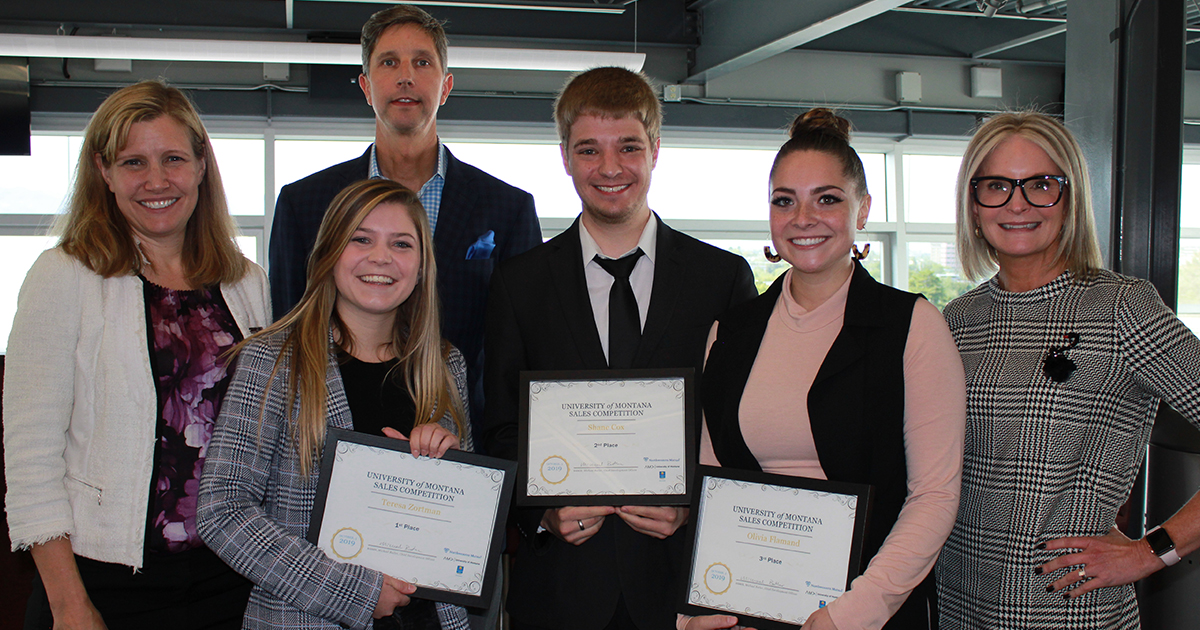 Sales Competition Prepares Students for Careers