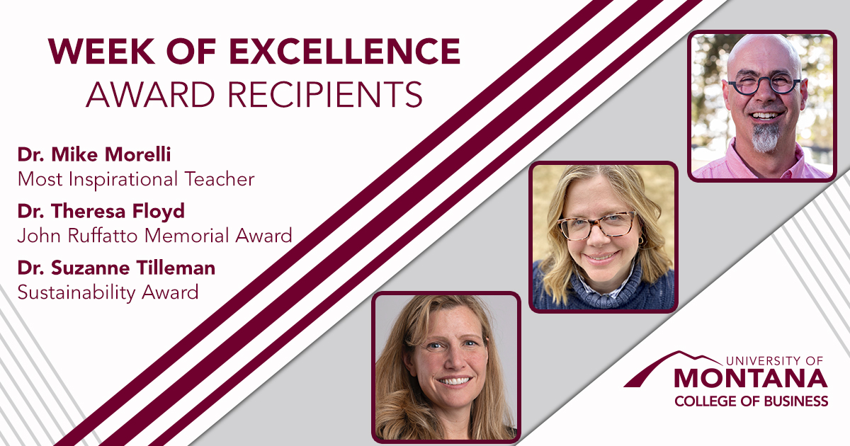 Faculty Members Recognized During Week of Excellence